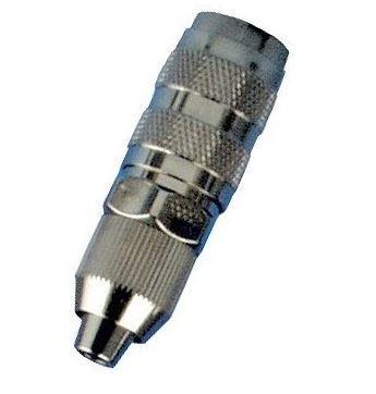 Airbrush-Kupplung NW 2,7mm mit Schlaucht/ülle