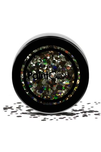 Chunky cosmetic glitters 3 gram Black Enchantress