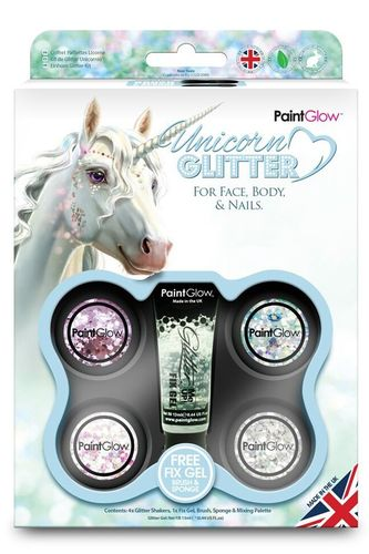 Box Unicorn Chunky Glitters