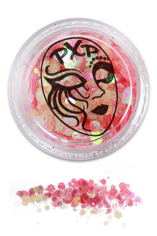 PXP Professional Colours Glitter, Baby Pink, 5gr