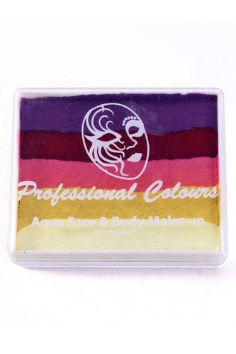 PXP 50 gr. splitcake Violet | Red | Pink | Metallic Yellow | White