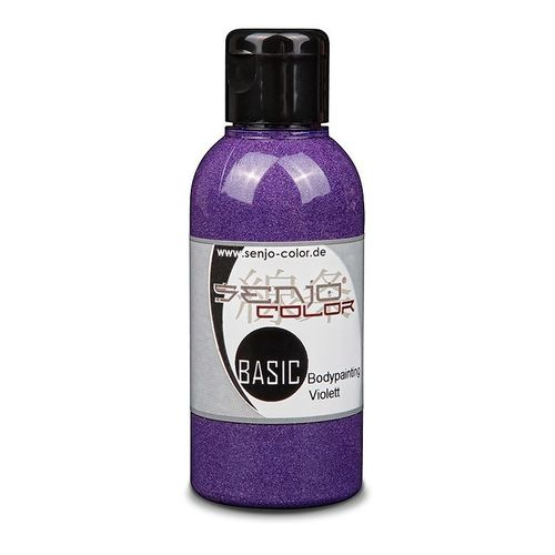 Basic Bodypainting Farbe 75ml für Airbrush & Pinsel Senjo-Color VIOLETT