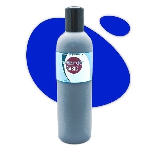 Senjo-Color Basic Bodypaint 250ml - MARINEBLAU