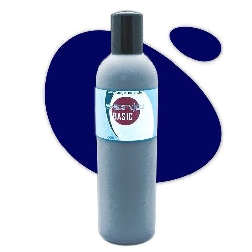 Senjo-Color Basic Bodypaint 250ml - Dunkelblau