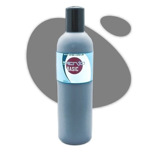 Senjo-Color Basic Bodypaint 250ml - Grau