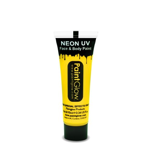 Face and Bodypaintingfarbe 10ml Gelb Yellow