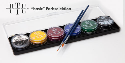 "6er PTE ""basic"" Farbselektion"