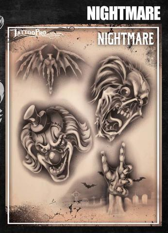 Tattoo Pro Stencils Nightmare