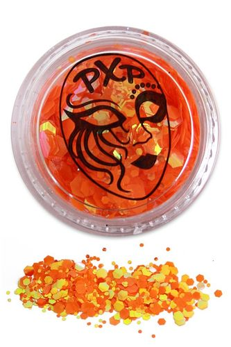 PXP Professional Colours Glitter, Goldfish Orange, 5gr
