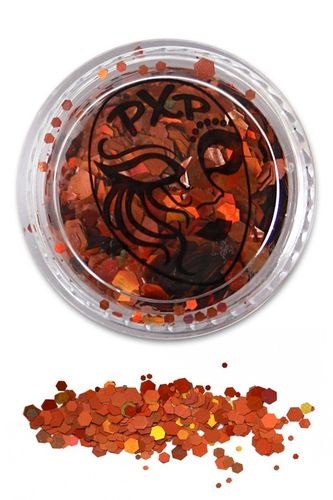 PXP Professional Colours Glitter, Terracotta Gold, 5gr