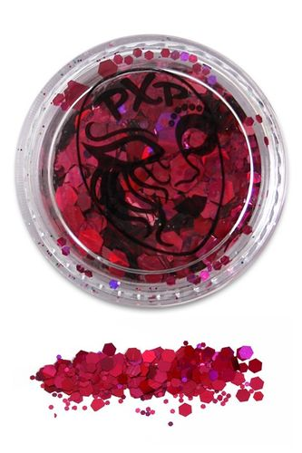 PXP Professional Colours Glitter, Flamingo Pink, 5gr