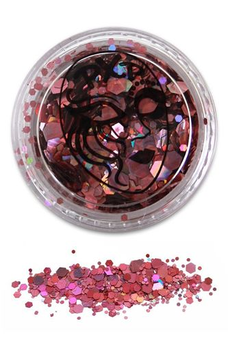 PXP Professional Colours Glitter Powder Pink 5gr