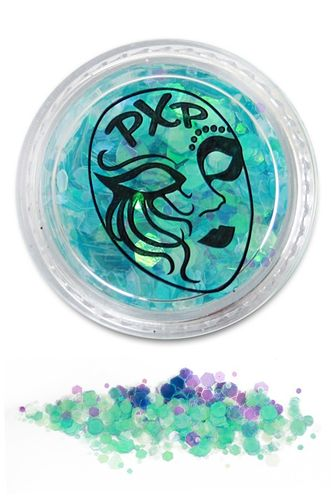 PXP Professional Colours Glitter, Blue Mermaid, 5gr