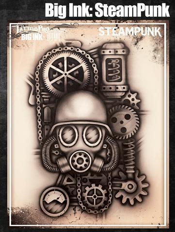 Tattoo Pro Stencils Big Ink: SteamPunk