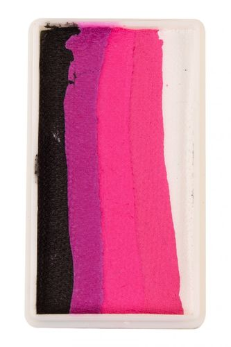 PXP 28 gram splitcake block Black - Magenta - Neon red - Pink - White