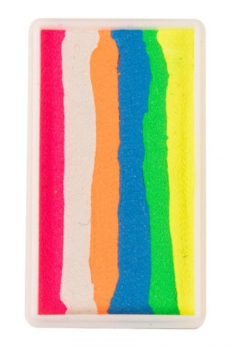 PXP 28 gr. splitcake block Neon pink - Neon white - Neon orange - Neon blue - Neon yellow