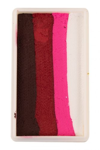 PXP 28 gr. splitcake block Dark red - Ruby red - Neon red -white