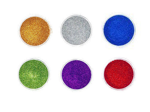 Quick-Tattoo, Holo Glitter Set Basic1, 6x3ml